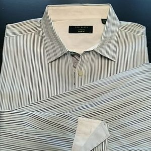 TED BAKER LONDON  DRESS SHIRT